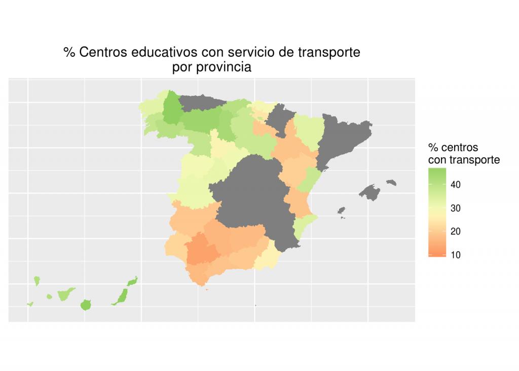 centros con transporte